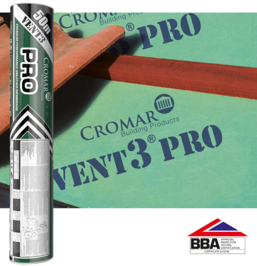 Breathable roofing membrane Vent3 Pro