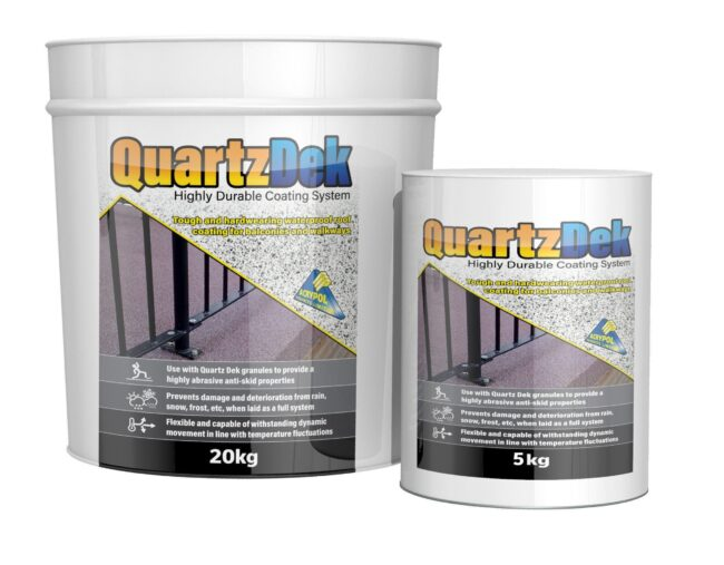 Acrypol QuartzDek From Cromar Building Products
